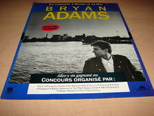 BRYAN ADAMS - COMPETITION!!!!!!!!!!!FRENCH PRESS ADVERT