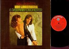 LP--UDO LINDENBERG & DAS PANIK ORCHESTER--BALL POMPÖS--FOC 1974