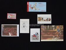 LOT HERGE ESTEVE FORT TINTIN Bar Cartes Hommage (336)