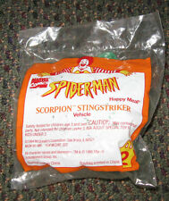 1994 McDonalds Happy Meal Spider-man Scorpion Sting Striker Toy #2 Marvel