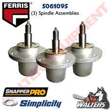 (3) Ferris OEM Spindle Assemblies 5061095 for Ferris   Simplicity   Snapper Pro