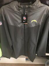 BNWT NIKE Los Angeles Chargers On Field Jacket Hoodie Mens Large 597675-032 $130