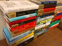 Lot of 10 Danielle Steel Romance Set Popular Series Hardcover HCDJ HB Books MIX