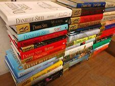 Lot of 10 Danielle Steel Romance Set Popular Series Hardcover HCDJ HB Books MIX