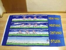 Fahnen Flagge Hösti 3 Schafe Gegen den Wissensdurst - 90 x 150 cm