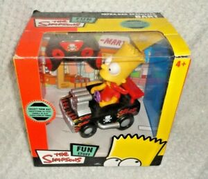 The Simpsons - Bart Simpson Infra-Red Speedster Toy 2009