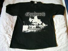 GORGOROTH – very rare old around 1998 DESTROYER T-Shirt!! black metal