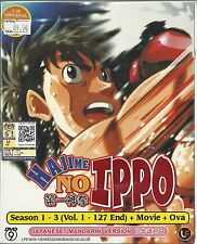 HAJIME NO IPPO (SEASON1-3) - COMPLETE ANIME TV SERIES DVD(1-127 EPS + OVA)