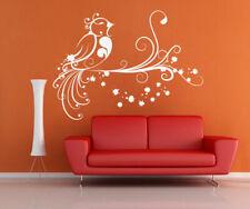 ik1486 Wall Decal Sticker bird tree branch children's bedroom living room