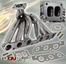 92-97 SC300/01-05 IS300/GS300 2JZGE 3.0L T04B STAINLESS TURBO EXHAUST MANIFOLD