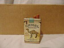 "vintage CAMEL Cigarettes box Lighter push button Camel Logo 2 1/2"" x 1 1/2"""
