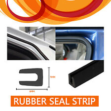 1M RUBBER SEAL STRIP EDGE PROTECTOR TRIM U STYLE SUV RV VAN BOAT ALL WEATHER #52