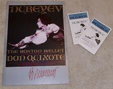 Signed! Rudolf Nureyev poster 1982 Don Quixote Boston Ballet Fox Theatre Atlanta