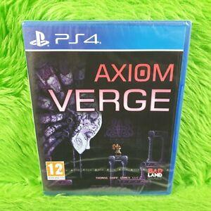 ps4 AXIOM VERGE New & Sealed PAL UK Version REGION FREE