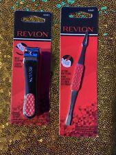 Revlon Set Toenail Clip With Catcher & Ingrown Toenail Tool Both New