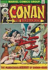 Marvel Comics Conan The Barbarian Volume One (1970 Series) #25 Vf- 7.5