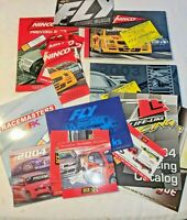 Lot of Slot Car Catalogs from Ninco, SCX, Fly & others from 2003-04