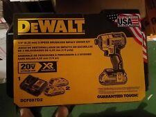 NEW Dewalt DCF887D2 20-Volt 1/4-Inch 2.0Ah 3-Speed Brushless Impact Driver Kit