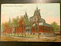Vintage Postcard>19910>St. Francis Hospital>Wichita>Kansas