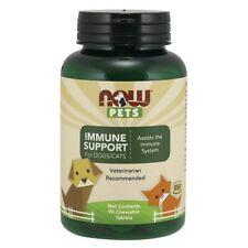 Now Foods Pet Immune Support 90 Tabs, Clearance for exp date 10/2020