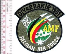 Belgium Royal Belgian Air Force RBAF Turkey Airbase Diyarbakir Allied Mob acu