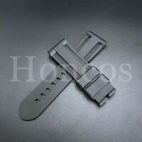 NEW 26MM SILICON RUBBER STRAP BAND BRACELET FOR OFFICINE PANERAI 47MM CASE
