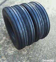 2 - 15x6.00-6 6 Ply Deestone D837 Rib Lawn Mower Tires PAIR 15x6.0-6 15/6.00-6
