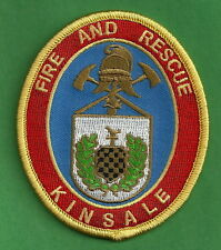 KINSALE IRELAND FIRE DEPARTMENT PATCH