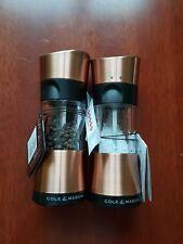 Cole & Mason Inverta Select Copper Horsham Salt & Pepper Mills Set of Two