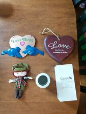 Lot Of 4 Home Decoration