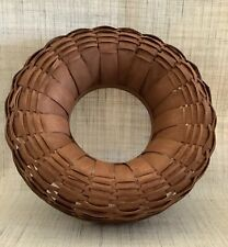 Longaberger Wreath Basket - Rich Brown
