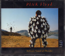 "PINK FLOYD "" DELICATE SOUND OF THUNDER "" DOPPIO CD SIGILLATO 1988 MADE IN ITALY"