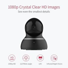 YI Dome Camera 1080p Pan Tilt Zoom Wireless IP Security Night Vision Camera NEW