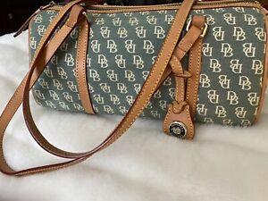 Dooney Bourke Vintage Green Signature Handbag