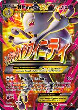 x1 Mega-Mewtwo-EX - 160/162 - Full Art Ultra Rare Pokemon XY Breakthrough M/NM