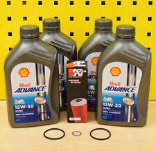 Ducati Panigale 899 959 1199 1299 aceite filtro original Shell Advance Ultra