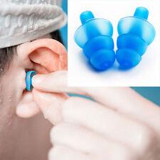 Send Random Silicone Ear Plugs Anti Noise Hearing Protection Earplugs 1Pair+Box