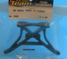 Associated 7445 T4 Rear Carbon Shock Tower RC Part