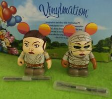 "Disney Vinylmation 3"" Park Set 1 Star Wars Force Awakens Rey Variant Lot"