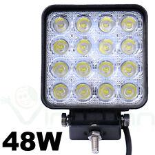 Faro 48W faretto quadrato 16 LED luce supplementare auto jeep fuoristrada F1L