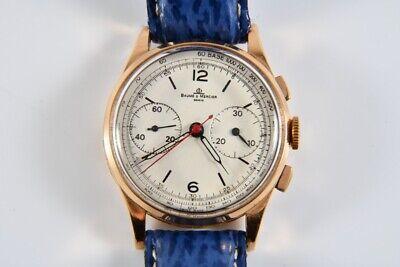 k63u12- Baume & Mercier Armbanduhr, 585er/ 14kt Gold Gehäuse