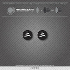 6009 - Cannondale Bicycle Handlebar Bar End Plug Stickers - Decals