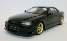 Greenlight 1/18 Diecast Model Car 19030 - 1999 Nissan Skyline GT-R R34 - Black