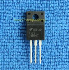 10pcs FDPF18N50 FDPF18N50T 500V N-Channel MOSFET TO-220F