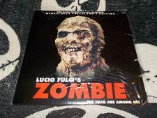 Zombie Roan Group Widescreen Laserdisc LD +Commentary Lucio Fulci Free Shipping