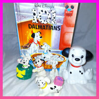 Disney 101 Dalmatians Toy Figure Bundle McDonald's joblot  dogs book gift