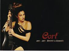Cort 2008-2009 Electric & Acoustic Guitar Catalogue