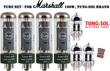 Tube Set for Marshall 100w electric guitar amplifier Tung-Sol vacuum valve tubes