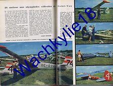 Science et vie 470 11/1956 Vol à voile Dentiste Télévision Sports Hollande Polde