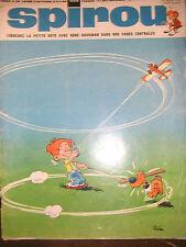 Spirou N° 1629 1969 BD Gaston Lagaffe Oncle Paul Mulligan René Hausman Poster